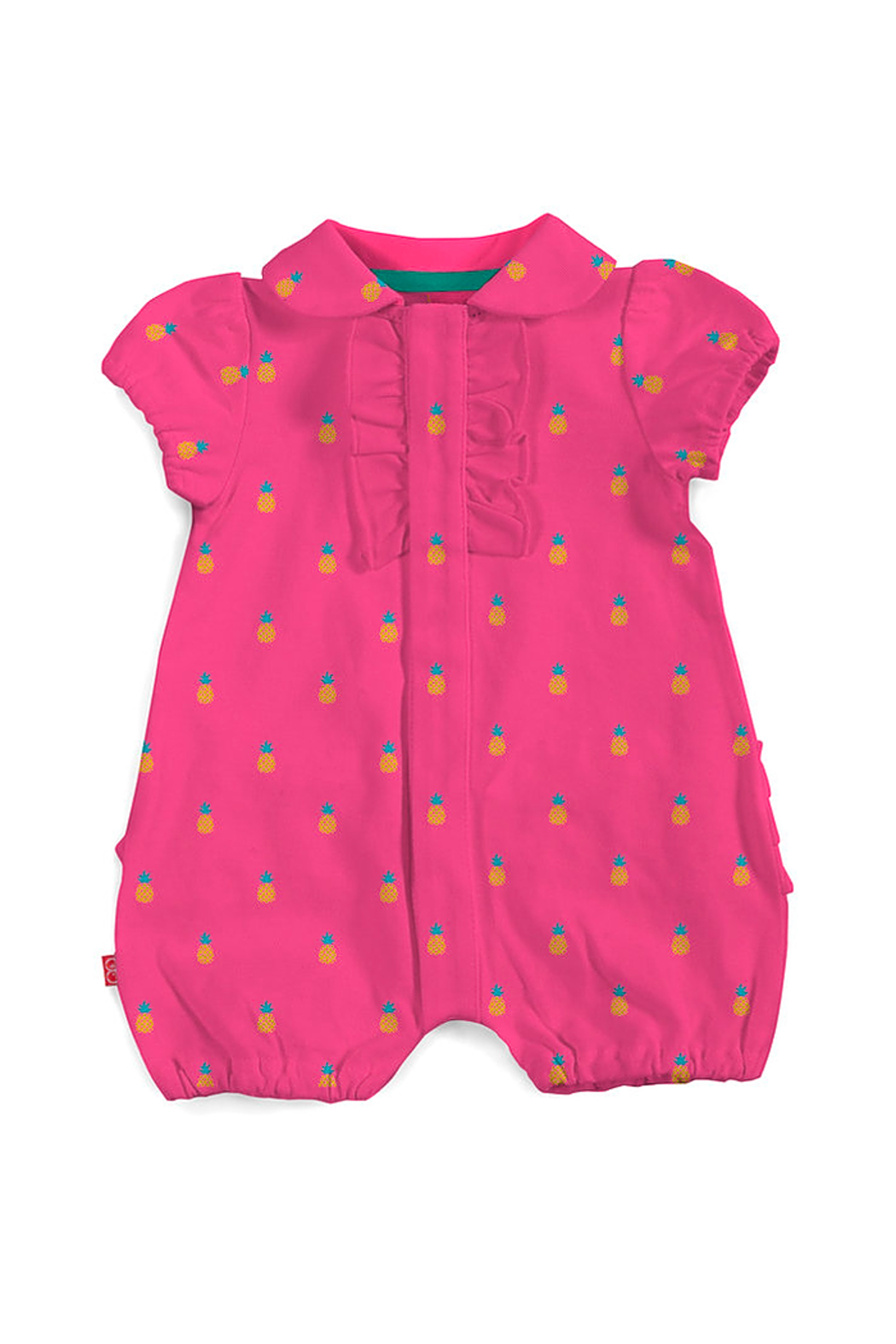 Magnetic Me Magnetic Pineapples Polo Romper - Main Image