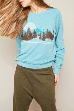 All Things Fabulous Pines Sweatshirt - Alternate List Image