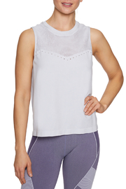 Betsey Johnson Pinhole Mesh Seamless Tank Top - Product Mini Image