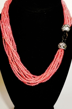 Italian Ice Pink Agate Necklace - Alternate List Image