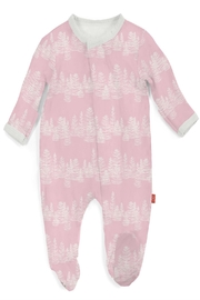 Magnificent Baby Pink Aspen Coverall - Front cropped