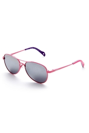 ZooBug Pink Aviator Sunglasses - Front cropped