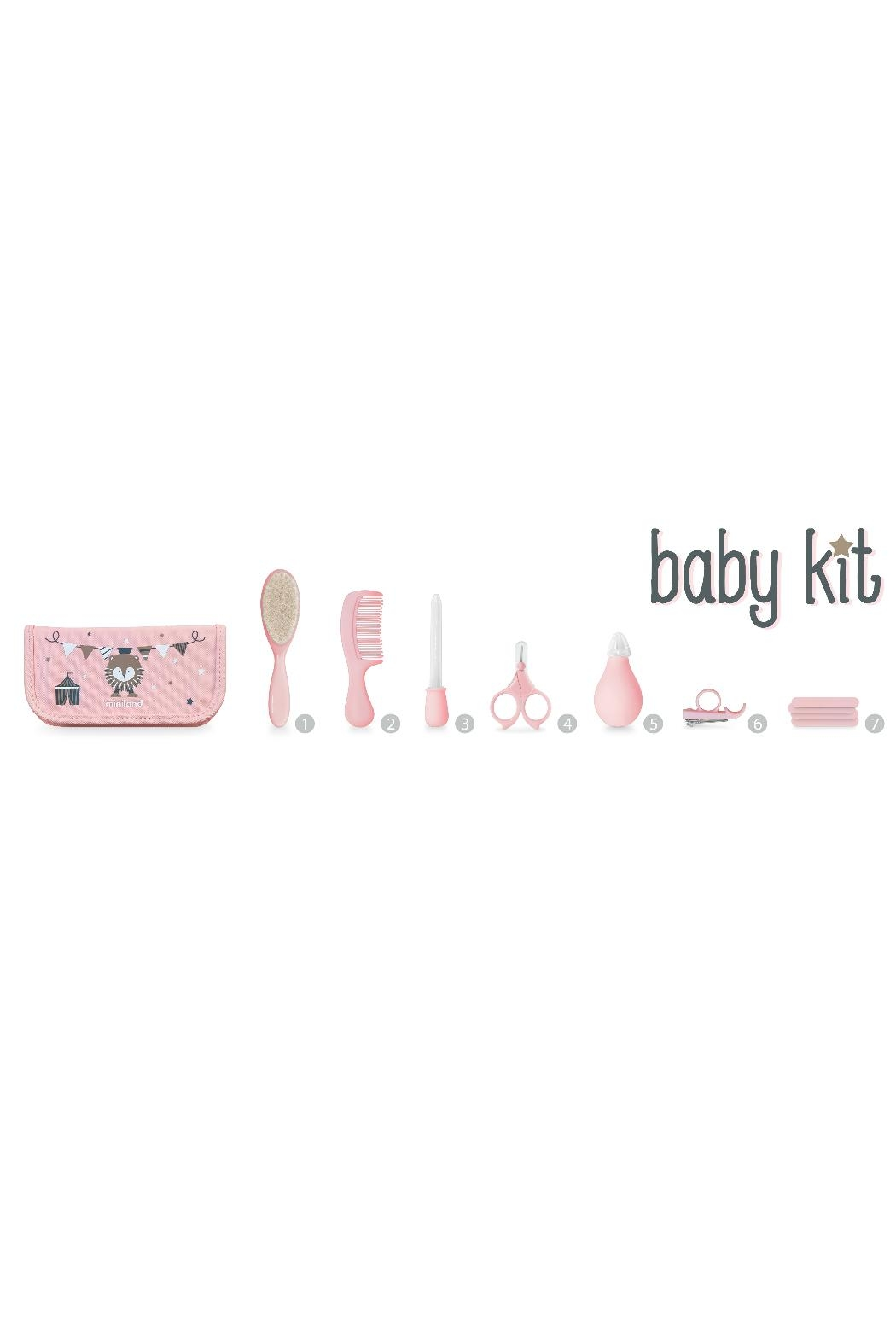 Miniland Pink Baby Kit - Back Cropped Image