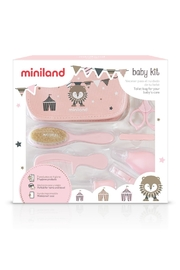 Miniland Pink Baby Kit - Front cropped