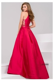 Jovani Pink Ball Gown - Front full body