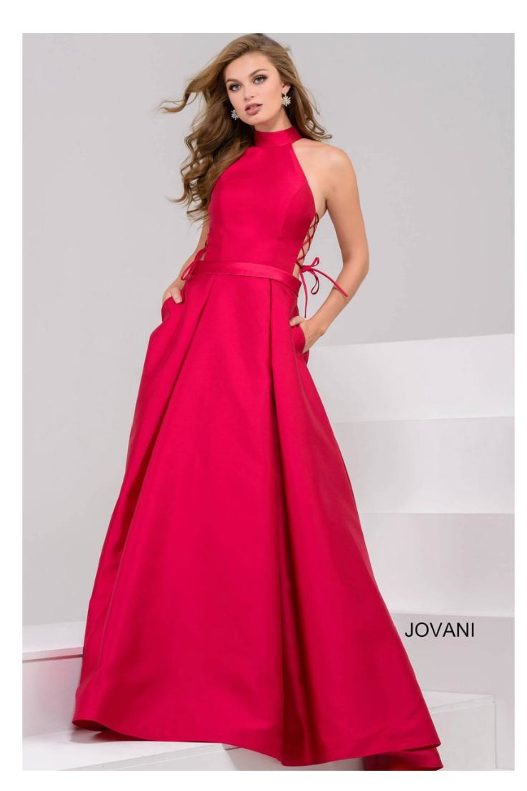 5709e1dba54 Jovani PROM Pink Ball Gown from Guilford by A s Unique Boutique ...