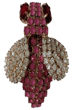 Shoptiques Product: Pink Bee Brooch