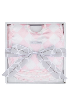 LITTLE GIRAFFE Pink Bib Set - Alternate List Image
