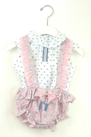 Dolce Petit Pink & Blue Outfit - Front cropped