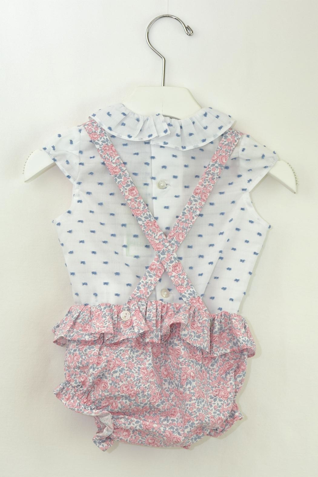 Dolce Petit Pink & Blue Outfit - Front Full Image