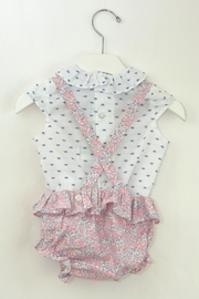Dolce Petit Pink & Blue Outfit - Front full body