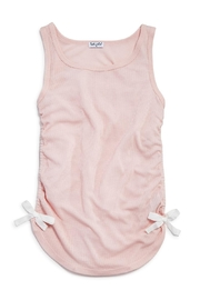 Splendid Pink Bow Tank - Front cropped