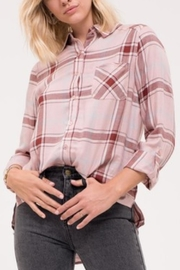 Blu Pepper Pink Button-Down Flannel - Product Mini Image
