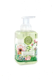 Michel Design Works Pink-Cactus Foaming Soap - Front cropped