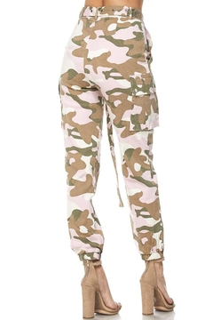 hot and delicious Pink Camo Pants - Alternate List Image