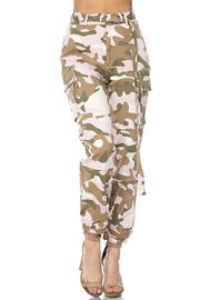 hot and delicious Pink Camo Pants - Product Mini Image