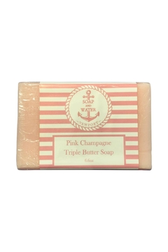 Soap and Water Newport PINK CHAMPAGNE BAR SOAP - Alternate List Image