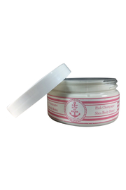 Soap and Water Newport PINK CHAMPAGNE BODY BUTTER - Front full body