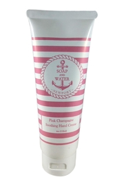 Soap and Water Newport PINK CHAMPAGNE HAND CREAM - Product Mini Image