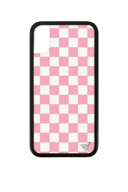 Wildflower Cases Pink Checkers iPhone X Case - Product Mini Image