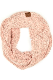 CC Beanie Pink Chenille Scarf - Product Mini Image