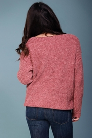 Wishlist Pink Chenille Sweater - Other