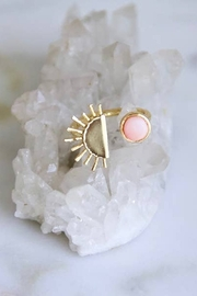 Mesa Blue Pink Coral Sun Ring - Product Mini Image