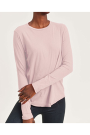 Maison A Pink Crew Neck Tee - Product Mini Image