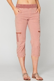 XCVI Pink Cropped Pant - Product Mini Image