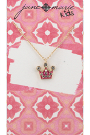 Jane Marie Pink Crown Necklace - Product Mini Image