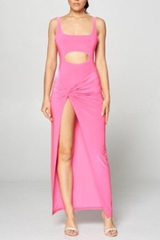 Win Win Pink Cut-Out Dress - Product Mini Image