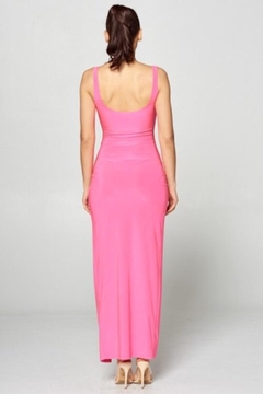 Win Win Pink Cut-Out Dress - Alternate List Image