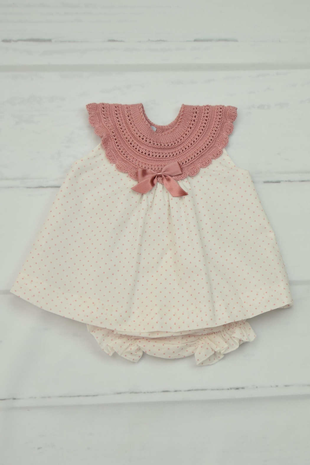 Granlei 1980 Pink Dots Dress - Main Image