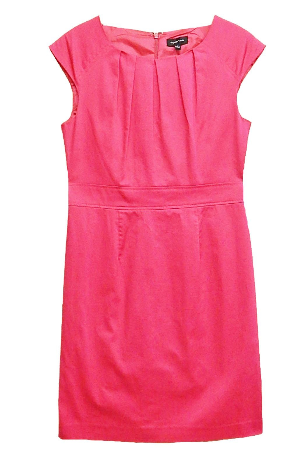 Spense Pink Dress - Front Cropped Image