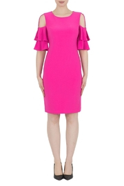 Joseph Ribkoff Pink Dress - Front cropped