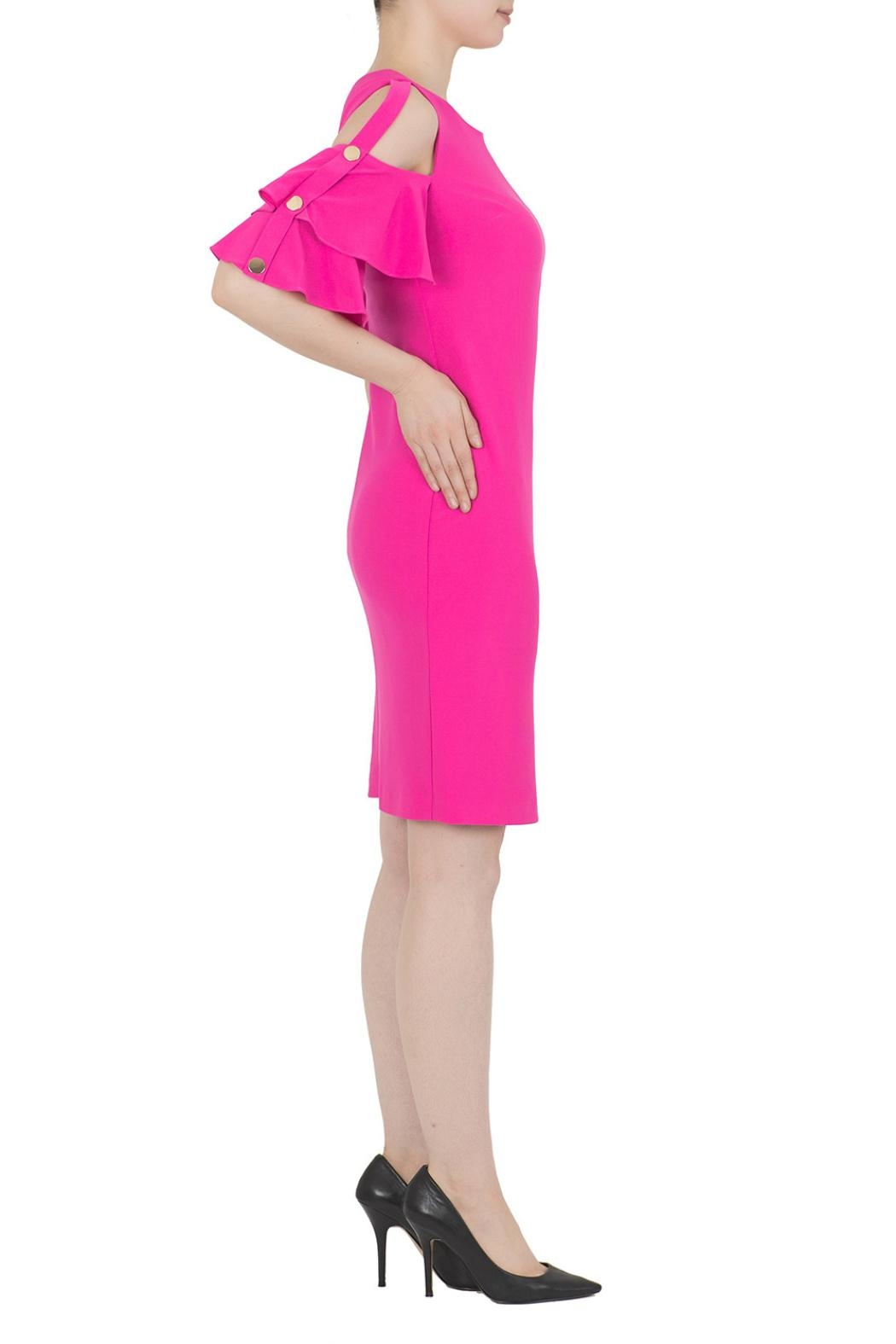Joseph Ribkoff Pink Dress - Front Full Image
