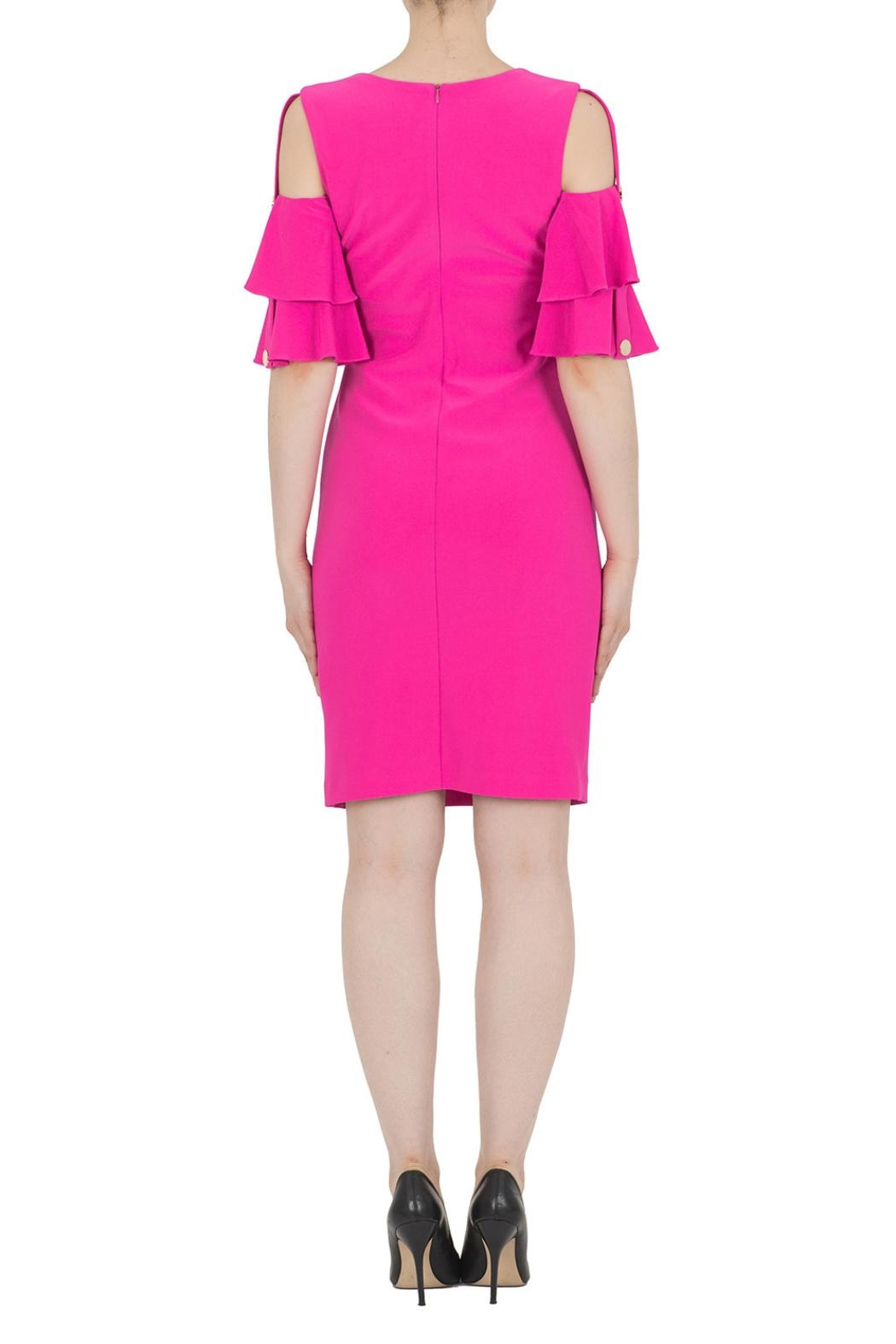 Joseph Ribkoff Pink Dress - Side Cropped Image