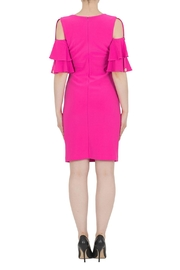 Joseph Ribkoff Pink Dress - Side cropped