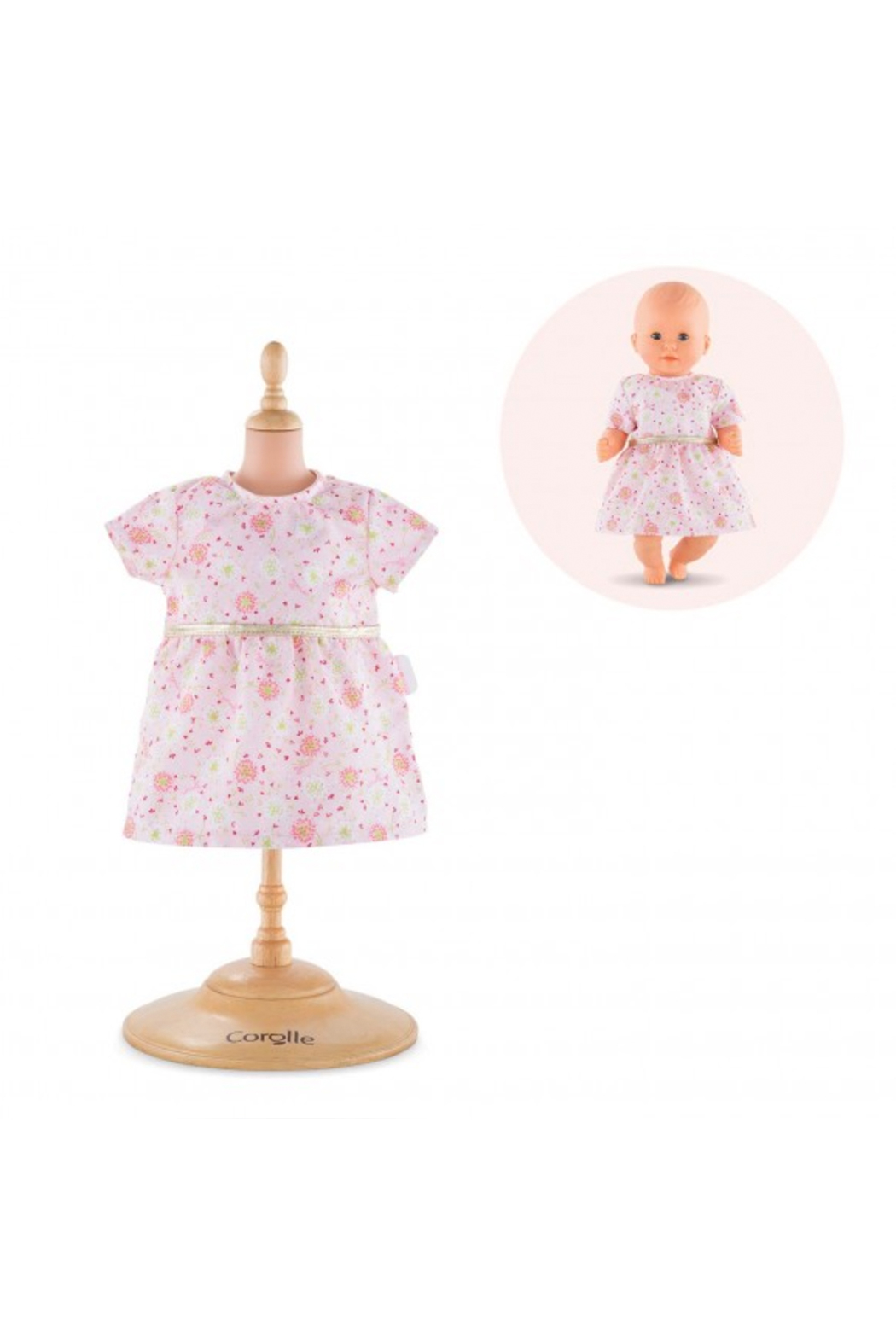 Corolle Pink Dress For 12