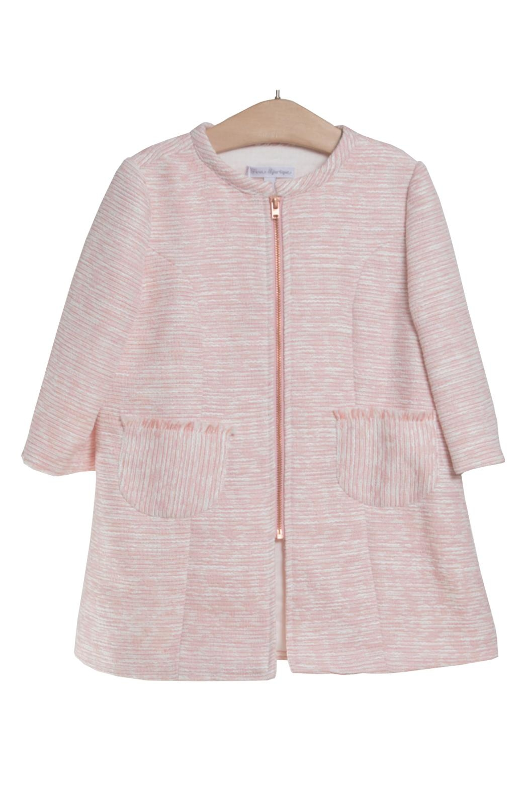 Fina Ejerique Pink Duster Coat. - Front Cropped Image