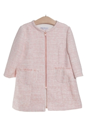 Fina Ejerique Pink Duster Coat. - Front cropped