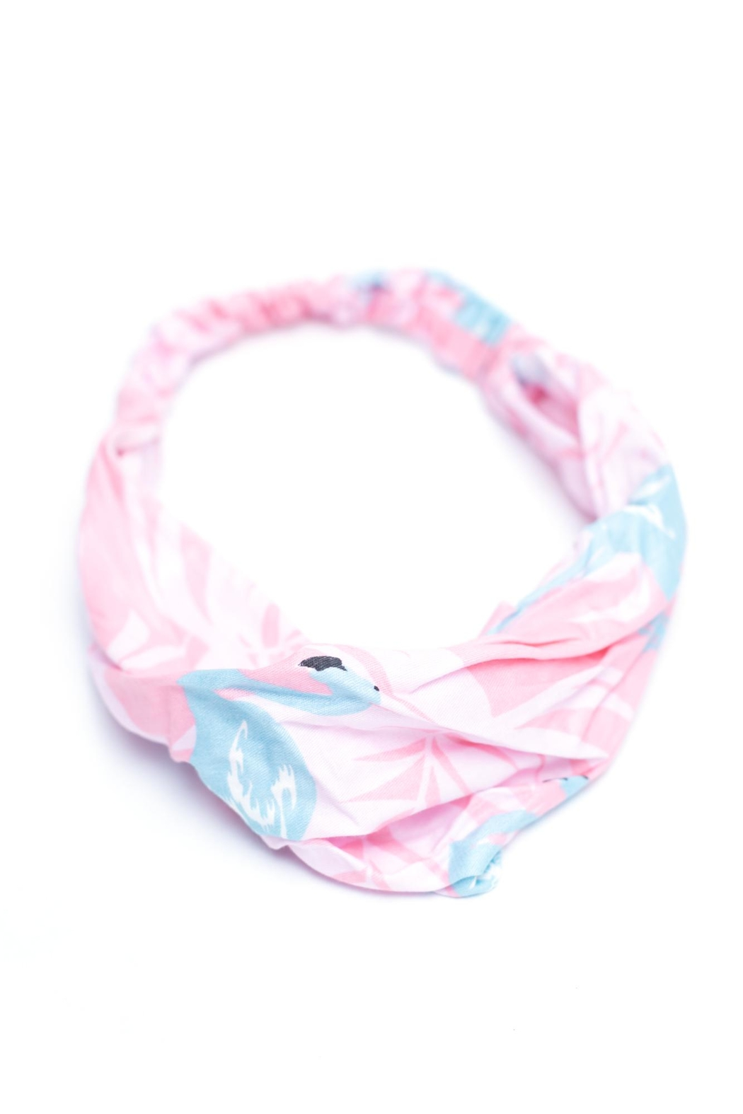 May 23 Pink Flamingo Headband - Main Image