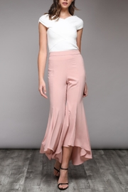 Do & Be Pink Flare Pants - Product Mini Image