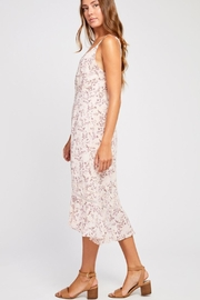 Gentle Fawn Pink Floral Dress - Front full body