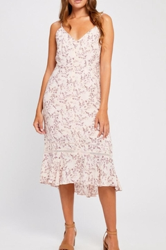 Gentle Fawn Pink Floral Dress - Product List Image