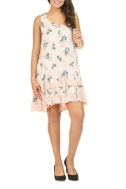 Papillon Pink Floral Dress - Product Mini Image