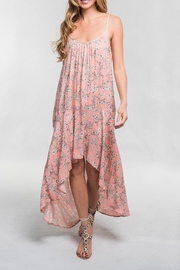 Lovestitch Pink Floral Maxi - Front cropped