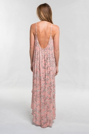 Lovestitch Pink Floral Maxi - Back cropped