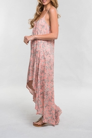 Lovestitch Pink Floral Maxi - Front full body