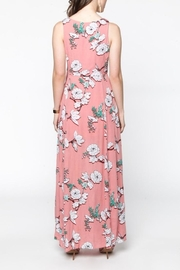 Everly Pink Floral Maxi - Back cropped